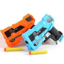 2 шт. пластиковое игрушечное ружье для детей мягкие снаряд из ЭВА игрушка Пистолеты Blaster Снайперская винтовка стрелять открытый битва подарок для игры для детей и взрослых