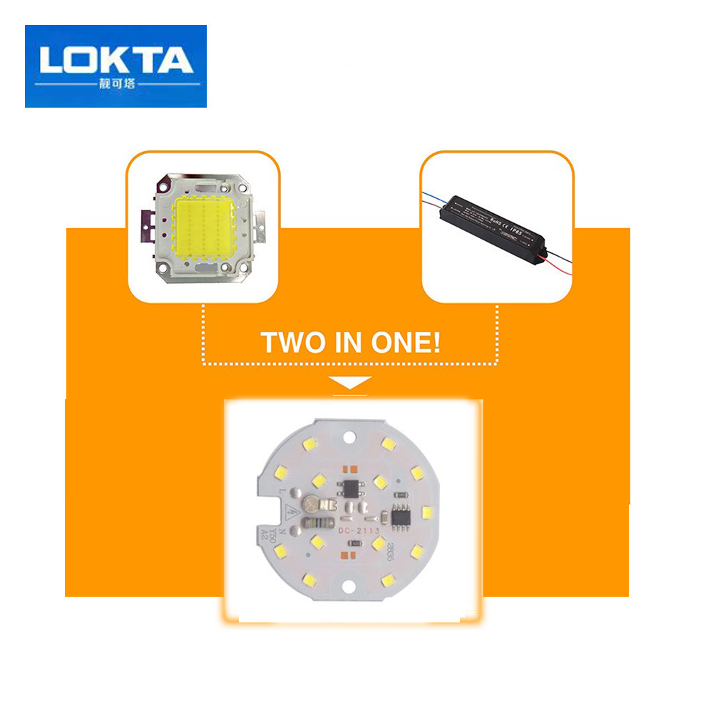 LED SMD CHIP 5W 7W 220V Input Directly Smart IC light beads Fit For DIY Downlight ceilnglight in Light Beads from Lights Lighting