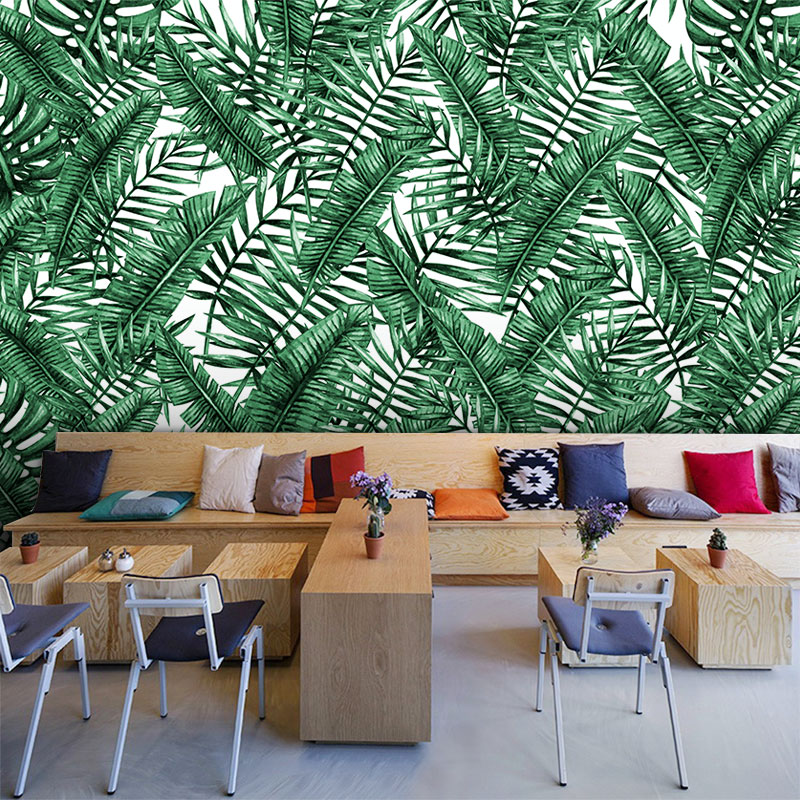 Cheap For All In House Products 3d Wallpaper Tropical Vintage In
