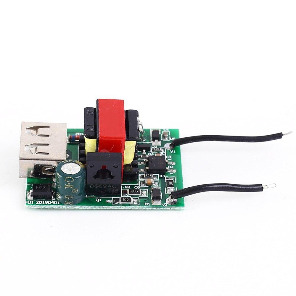 Понижающий преобразователь стабилизатор DC-DC понижающий модуль 12В 24В 36В 48В 72В до 5В 1а USB гальванический изолированный источник питания
