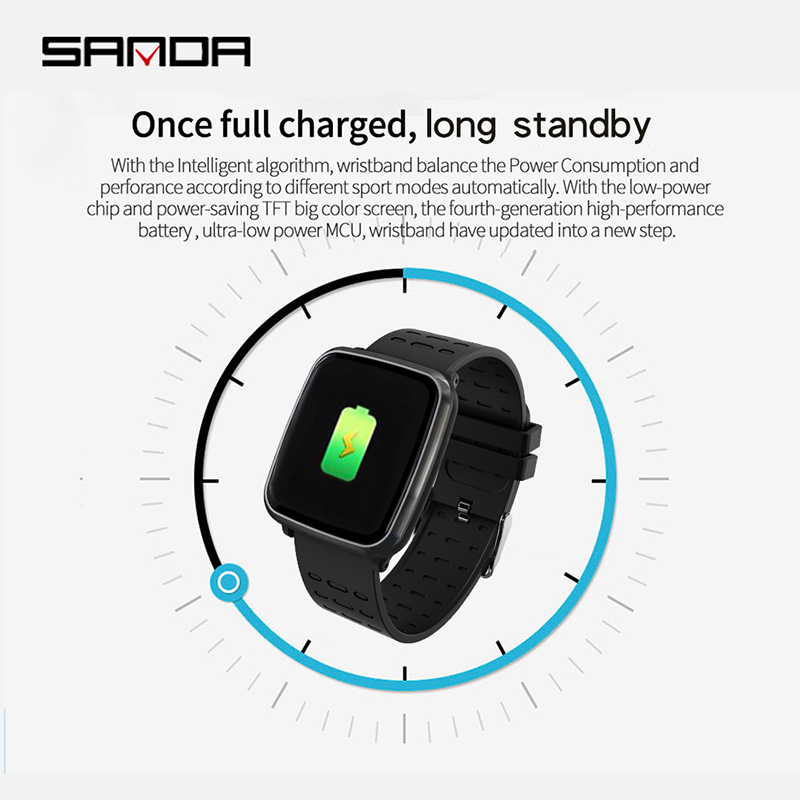SANDA K02 Women Smart Life Assistant Call Reminder Digital Wristwatches Answer Call Heart Rate Monitor Blood Pressure Oxygen in Women 39 s Watches from Watches