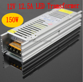 LED transformer input 110-240V AC to 12V 150W switching led power supply for led strip light driver warranty 2 years RoHS CE