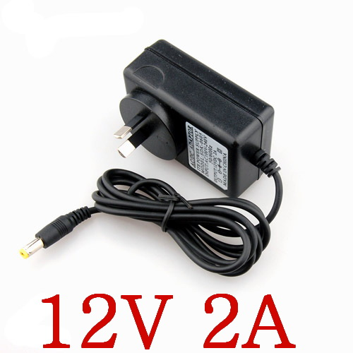 High quality 20PCS 12V2A  AC 100V 240V Converter Adapter DC 12V 2A Power Supply AU Plug DC 5.5mm x 2.1 2.5mm 2000mA-in AC/DC Adapters from Consumer Electronics    1