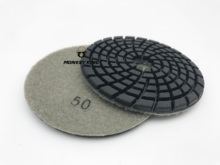 купить Diamond Polishing Pads Super Thick 4 inches Granite Marble Concrete 5mm Wet Dry в интернет-магазине