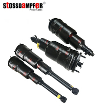 StOSSDaMPFeR 4pcs Rear Air Spring Front Ride Shock Fit Lexus Toyota LS600 (48010)4802050240 (48090)4808050201
