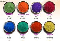 16 colors Pearlescent Pigment For Cosmetic Making,raw of eye shadow makeup,DIY soap,Car paint pigment