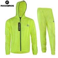 ROCKBROS Men Women Waterproof Mountain Bike Raincoat Cycling Clothing Bike Raincoat Windbreaker Cycling Rain Jacket Jerseys