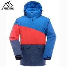 SAENSHING Brand Ski Jacket Men Waterproof Super Warm Snowboard Jacket Snow Coats Breathable Outdoor Skiing and Snowboarding Wear