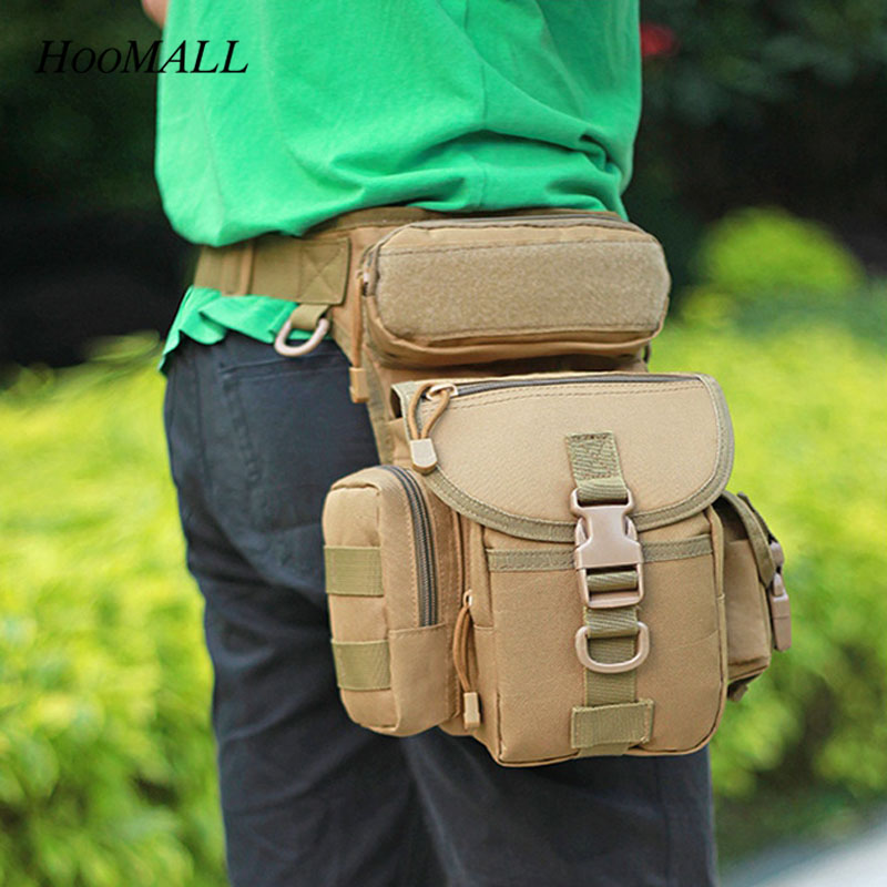 Hoomall 1PC Waist Bag Multifunction Fabric Oxford Waterproof Electrician Tool Bags Multi-pocket Storage Package High Quality New