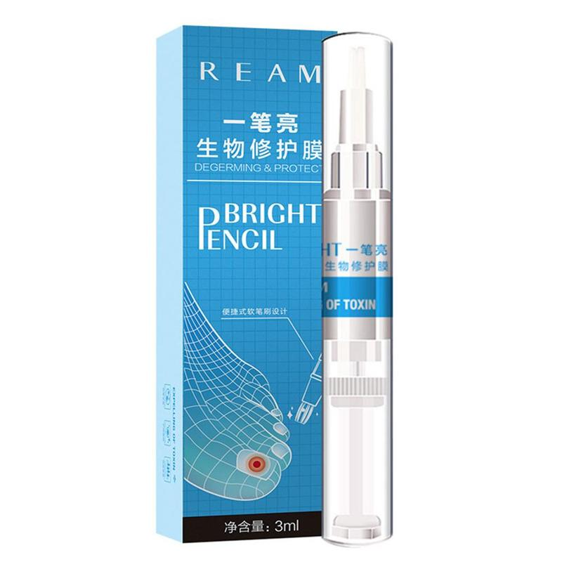 Image 2 - 3ml Restores Healthy Nail Solution Anti Fongique Infection Nail Bright Pencil Fungal Treatment Anti Fungus Biological-in Patches from Beauty & Health