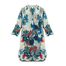 Шелк креп платье Классический дизайн Новое поступление летние платья с принтом размера плюс шелковое платье