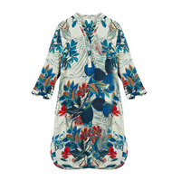 100% Silk Crepe Dress Classic Design New Arrival Summer Printed Dresses Plus Size Silk Dress 2019