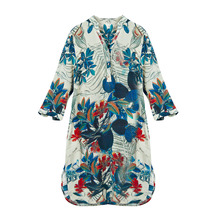 100% Silk Crepe Dress Classic Design New Arrival Summer Printed Dresses Plus Size Silk Dress 2019