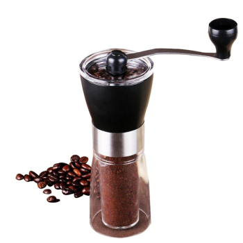 Manual Coffee Grinder Washable Ceramic core Home Kitchen Mini Hand made  Bean Burr  Grinding Machine small coffee pulper huller machine manual cocoa bean shelling pulping extractor zf