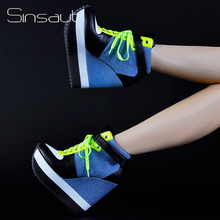 أحذية النساء الدانتيل الأحذية