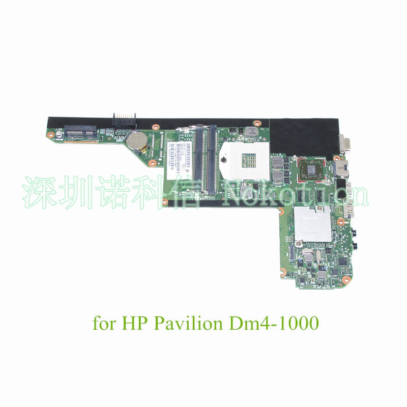 NOKOTION Mainboard SPS 630713-001 For HP Pavilion DM4 DM4-1000 laptop motherboard HM55 DDR3  HD6370 Graphics nokotion 653087 001 laptop motherboard for hp pavilion g6 1000 series core i3 370m hm55 mainboard full tested