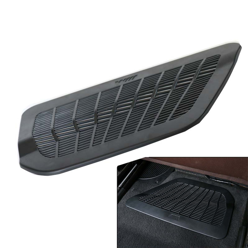 Under Seat Grille Air Condition Dust Vent Cover Mat For BMW 5 7 Series F10 F11 F18 F01 F02 F03 F04 11-17 Car Styling Vent Cover grille