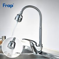 Frap Hot Sale Solid Brass Kitchen Mixer Cold and Hot Kitchen Tap Single Hole Water Kitchen Sink Faucet Torneira Cozinha F4303