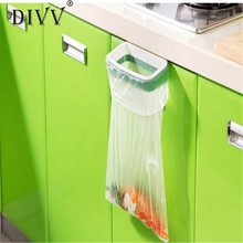 Home Wider Hot Sale  Hanging Kitchen Cupboard Cabinet Tailgate Stand Storage Garbage Bags Rack Nov25