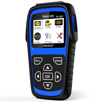 NEXAS 2018 New NL102PLUS OBD/EOBD Code Reader Diagnostic Scan tool For Car and Heavy