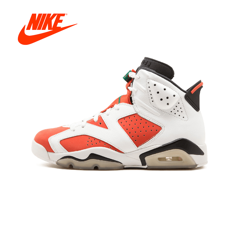 Original New Arrival Authentic NIKE Air Jordan 6 Retro Gatorade Womens Basketball Shoes Sneakers Sport Outdoor Good Quality