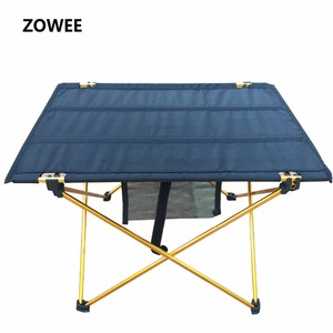 Image 1 - Outdoor Camping Folding Table with Aluminium Alloy  Table Waterproof Ultra light Durable Folding Table Desk For Picnic& Camping