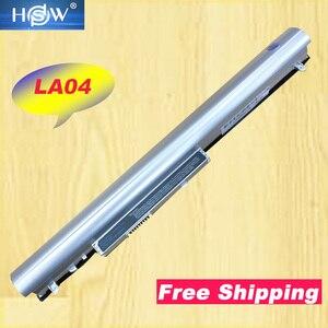 Image 1 - HSW Battery For HP LA04 LA04041 HSTNN YB5M Pavilion TouchSmart 14 15 F3B96AA HSTNN UB5M HSTNN UB5N 728460 001 HSTNN Y5BV