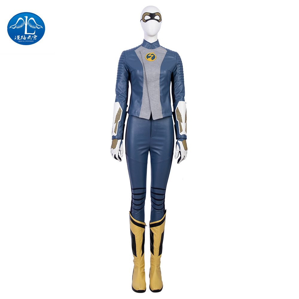 MANLUYUNXIAO The Flash Season 5 Barry Allen Flash Cosplay Costume Carnival Halloween Costumes for Adult Men Flash Costume