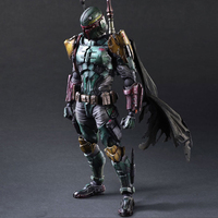 27cm Boba Fett With Weapons Play Arts Star Wars Action Figure Toys Decor Kits for Car Kids Gift Diy Toys for Christmas