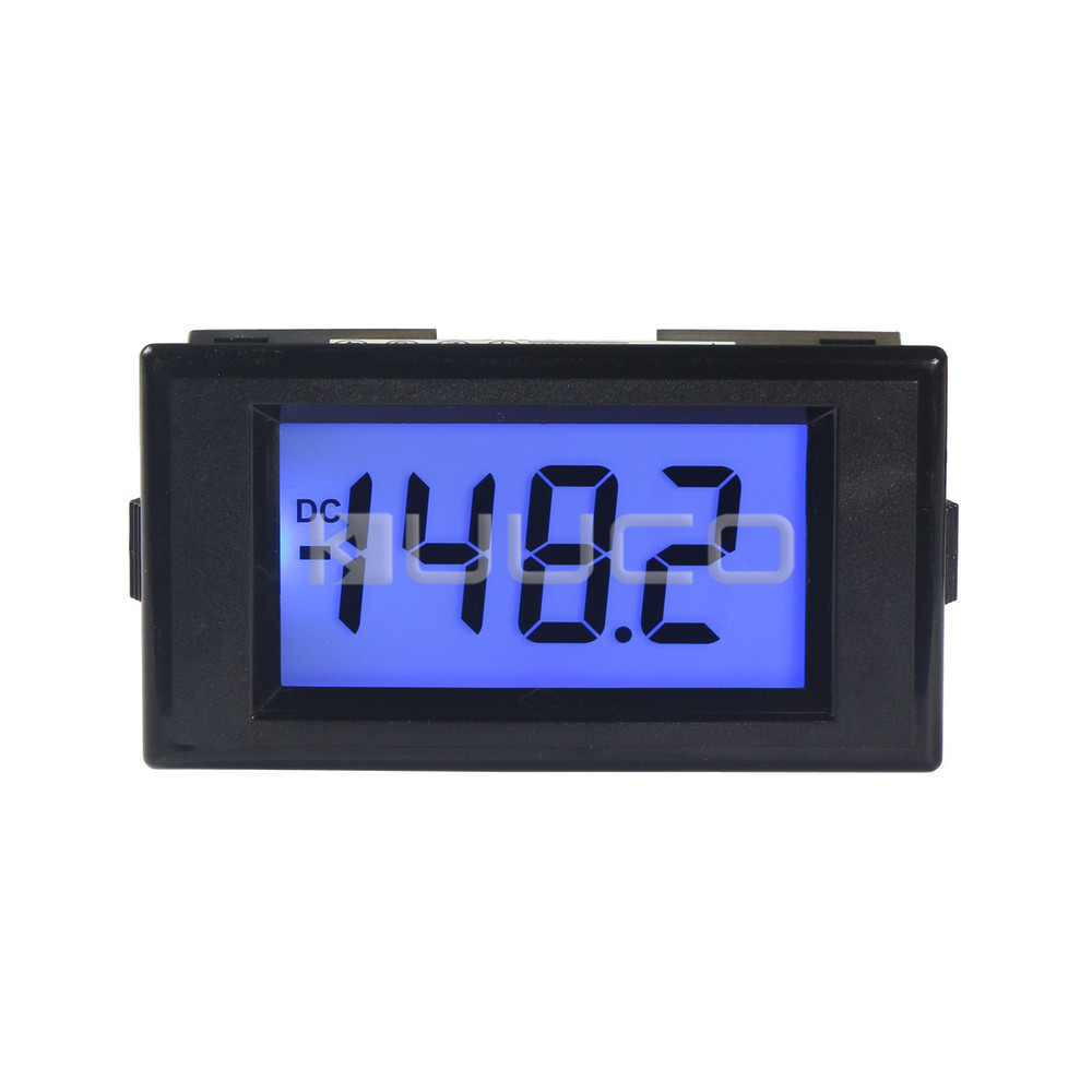 200mv Voltage Meter Dc 01999mv Lcd Blue Backlight Display Digital The Voltmeter Accuracy Of This Schematic Is Limited High Volt Gauge Ac 8v 12v Power Supply In Instrument Parts