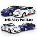 1:43 modelos de automóviles de aleación, alta simulación 911 coches juguetes, metal funde, vehículos de juguete, tire hacia atrás, juguetes educativos, envío gratis