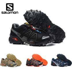 Salomon Speed Cross 3 Cs III Men Running Shoes Professional Outdoor Male Flywrite Athletic Sport Shoes Speedcroo 3 Size 40-46