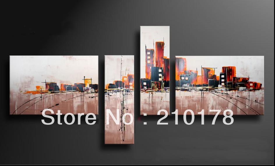 Handgemachte ölgemälde auf leinwand moderne 100% Beste Kunst Abstrakte ölgemälde original direkt vom künstler XD4-205
