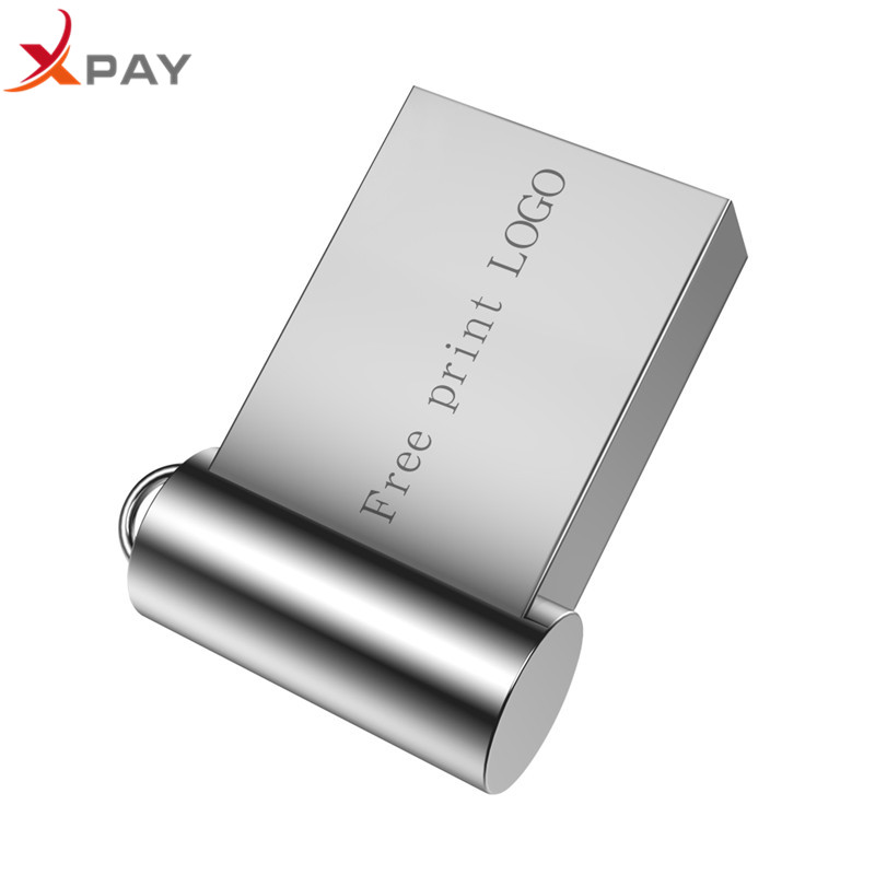 Image 2 - Hot sale Super Mini metal usb flash drive 4GB 8GB 16GB pen Drive 32GB 64GB 128GB usb 2.0 pendrive for gift flash stick Free LOGO-in USB Flash Drives from Computer & Office