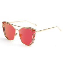 New Hot Summer Metal Vintage Shades Colorful Brand Designers Outdoors Beach Driving Men&Women's Sunglasses Fashion Sun Glasses