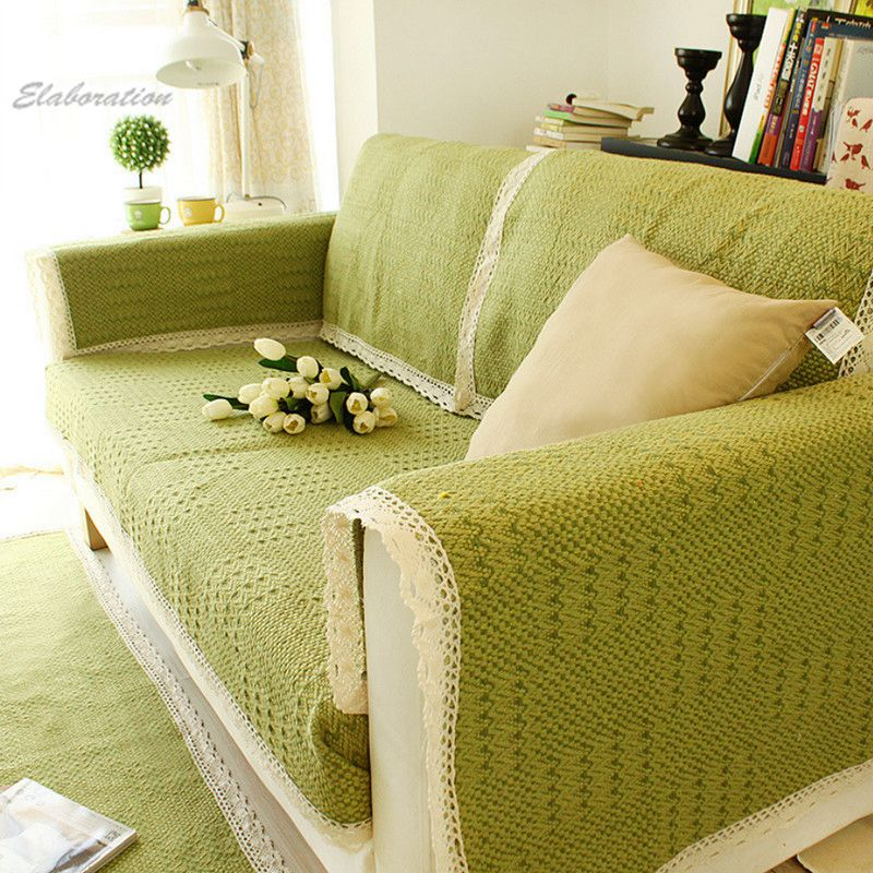 Green Sofa Cover | Home Design Ideas