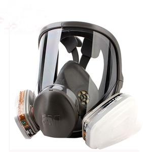 Image 2 - Original 3M 6800 Painting Spraying Respirator Gas Mask Industry Chemcial Full Face Gas Mask Facepiece Safety Respirator Medium