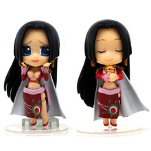 11cm One Piece empress cute high-grade boxed face Boa Hancock One Piece anime garge kits Doll toys One piece action figure