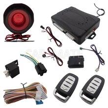 1 Полосная Система Автосигнализации Один Из Способов Автомобиля Сигнализация Пульт Дистанционного ствол Выпустить Противоразбойной Автосигнализации С Shock Sensor и Переключатель Блокировки
