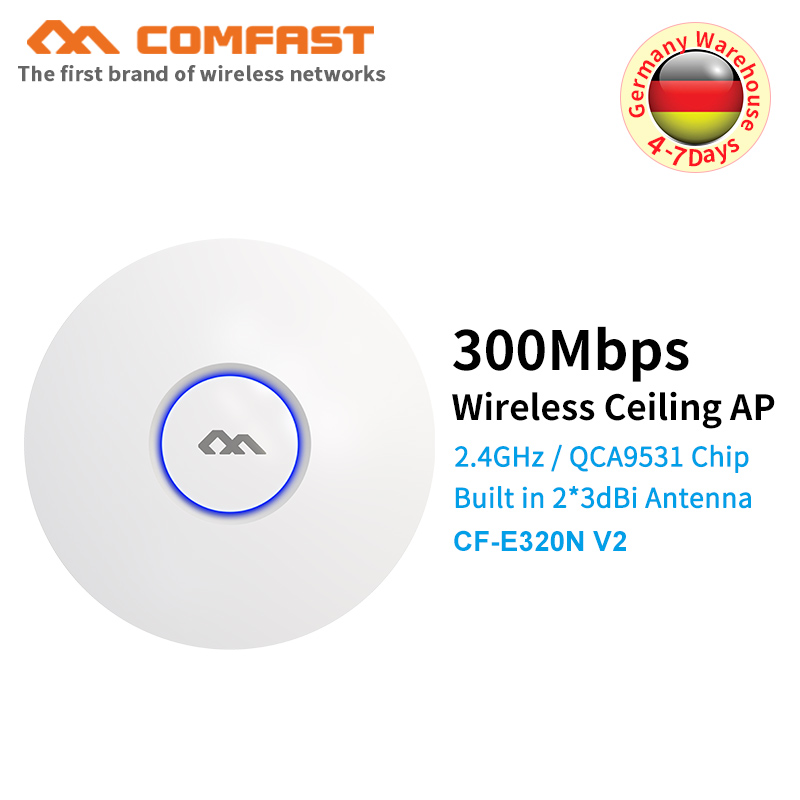 COMFAST Wifi-Router Enterprise Open-Ddwrt Access-Point-Ap-Bridge 300M Wireless Ceiling