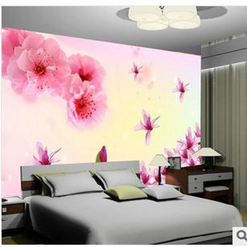 beibehang Large mural bedroom living room TV background wallpaper wallpaper background papel de parede  3d wall murals wallpaper  custom wallpaper 3d a couple of peacock murals for the living room bedroom tv background wall waterproof papel de parede