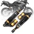 """Universal 12.5 """"320mm motorcycle air shock absorber damper substituição da mola da suspensão traseira para yamaha black & gold d30"""
