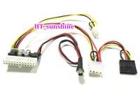 5PCS LOT Hot Sale And High Quality DC 12V 160W 24Pin Pico ATX Switch PSU Car