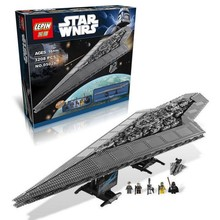 LEPIN 05028 Star Wars Star Destroyer Action Figure Building Block Minifigure Toys Best Toys For Gift Compatible With Legoe 41127