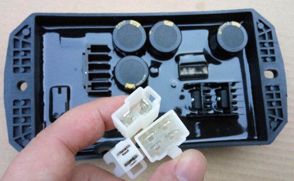 Генераторы AVR автоматический регулятор напряжения AVR 10KW однофазный 8 линии