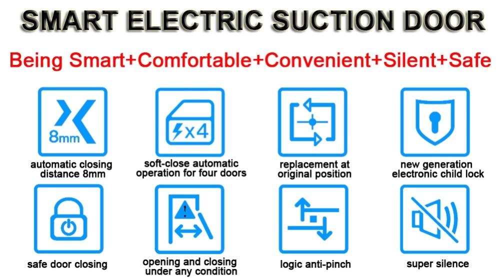 electric suction door lock