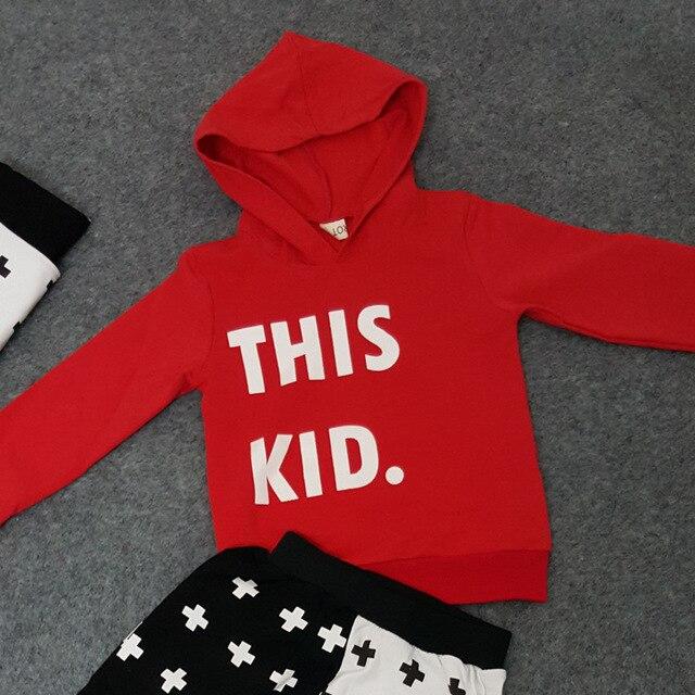 Ребенка дети малыши мальчики толстовки письмо количество печать 100% хлопок пальто толстовка с капюшоном верхняя одежда топы пуловер
