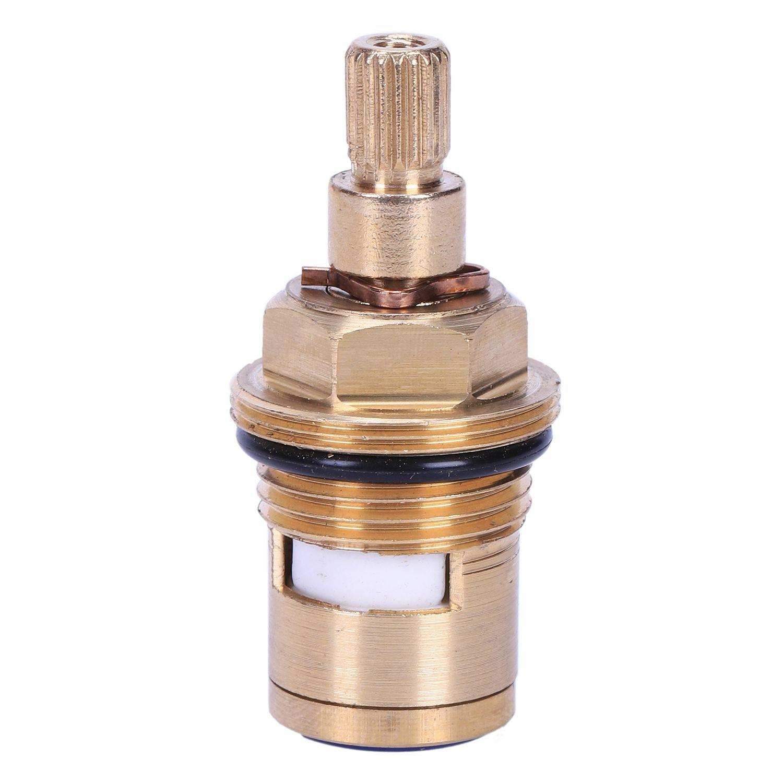 SHGO-1 Pcs Replacement Brass Ceramic Disc Tap Valve Insert Gland Cartridge Quarter Turn