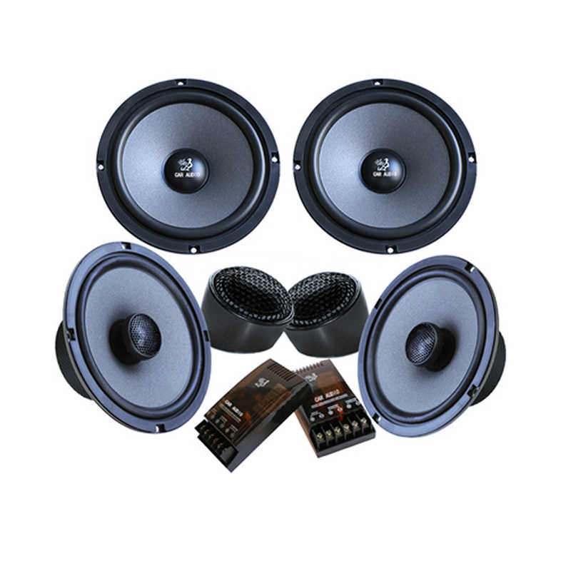 A Full Set of 10.10inch Car Hifi Speakers Woofer Speakers For Front Door And  Coaxial Speakers For Back Door