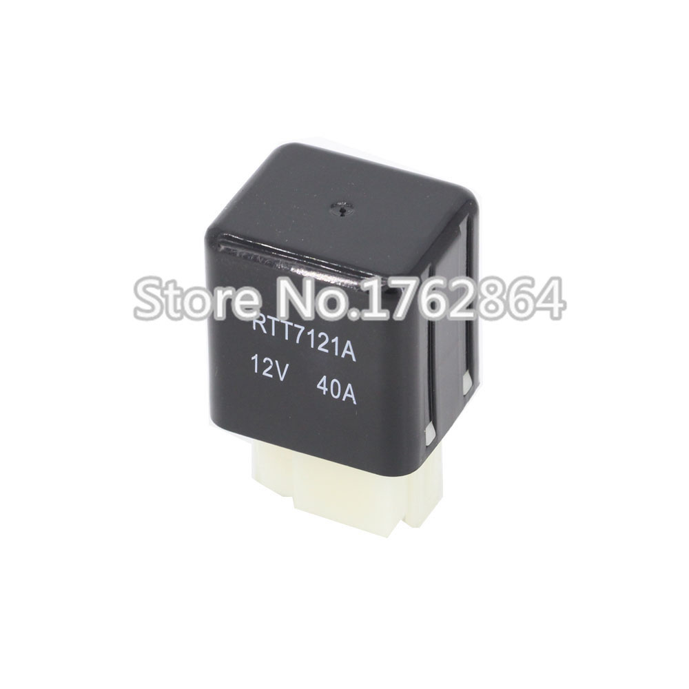 12V RTT7121A 40A 4pin small electromagnetic relay 4 pin car / DIY General Electric Relays 12v rtt7121a 40a 4pin small electromagnetic relay 4 pin car diy general electric relays
